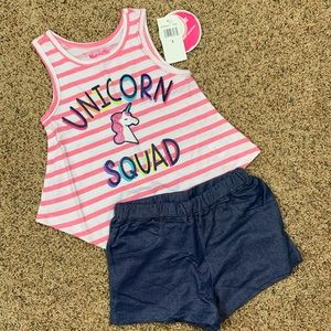 NEW Unicorn Squad 2 Piece Set